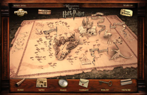 Harry Potter Park Interactive Map
