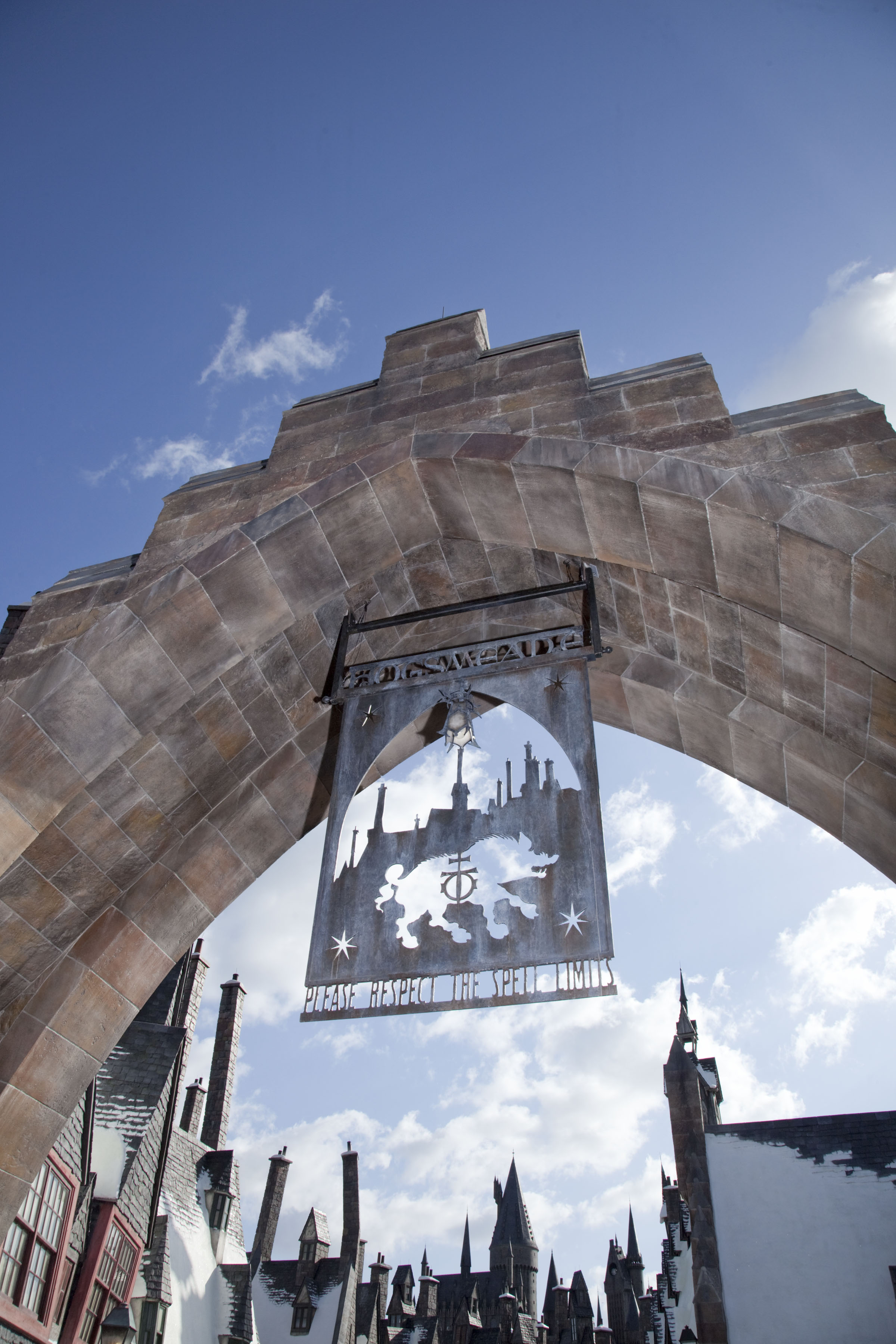 Harry Potter Park Universal Releases Hogsmeade Photo