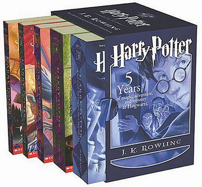 Harry Potter Books on Amazon Kindle