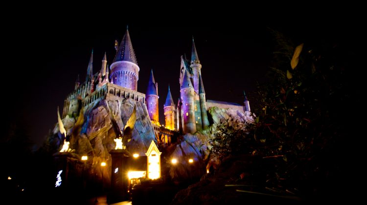 Harry Potter World Wedding at Hogwarts Castle at Universal Orlando