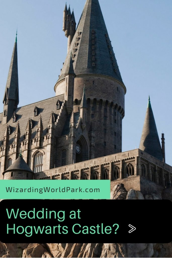 wedding at hogwarts castle