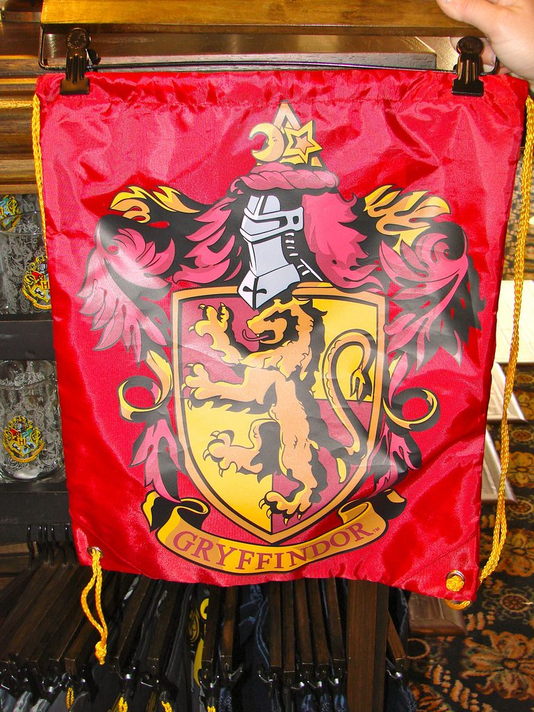 Hogwarts House Colors Gryffindoor