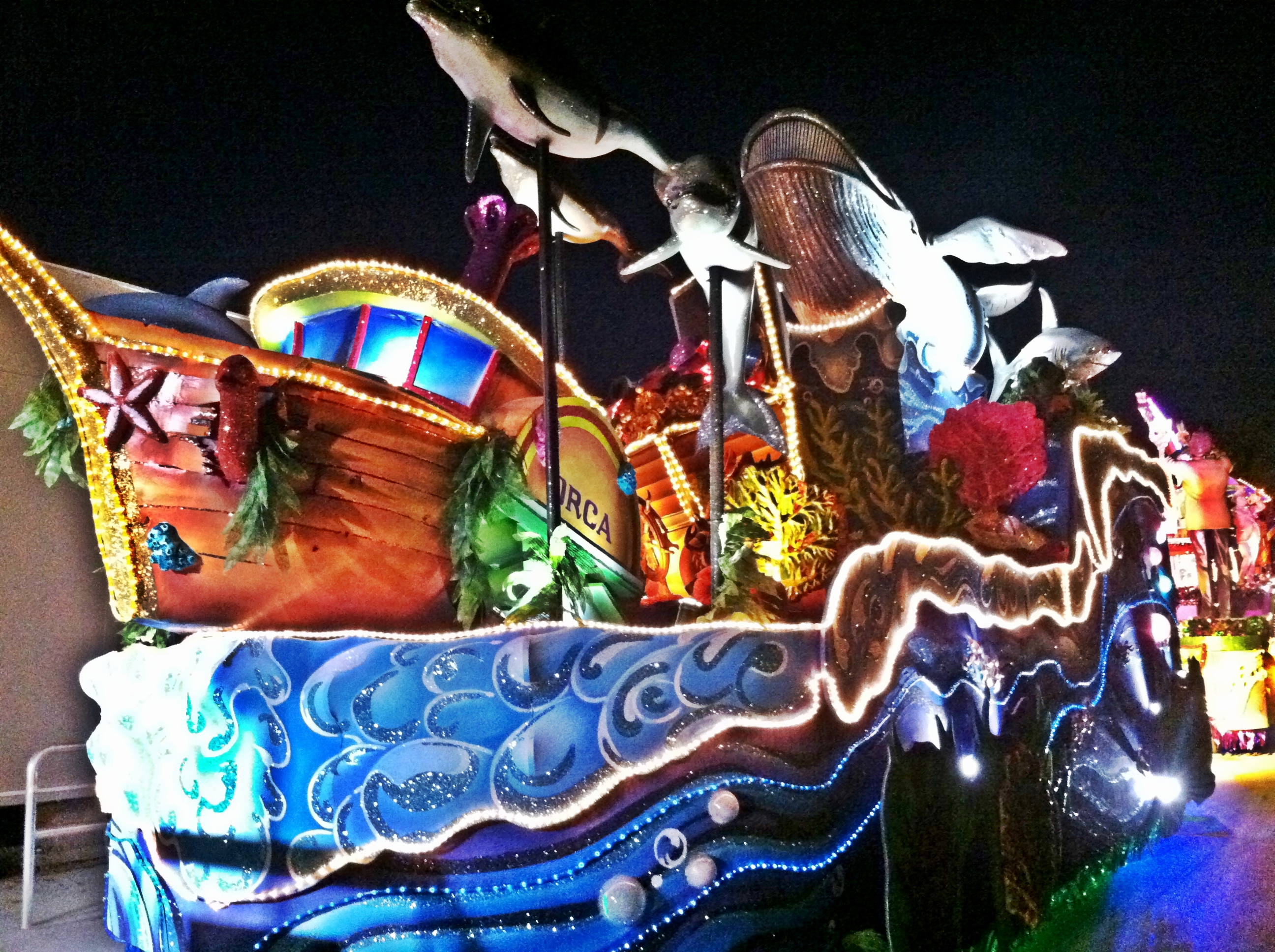 Universal Orlando Mardi Gras Parade Float Ride
