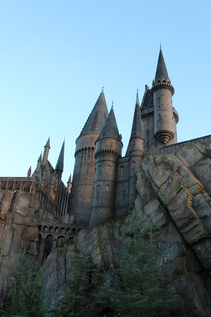 Harry Potter and the Forbidden Journey Castle Tour