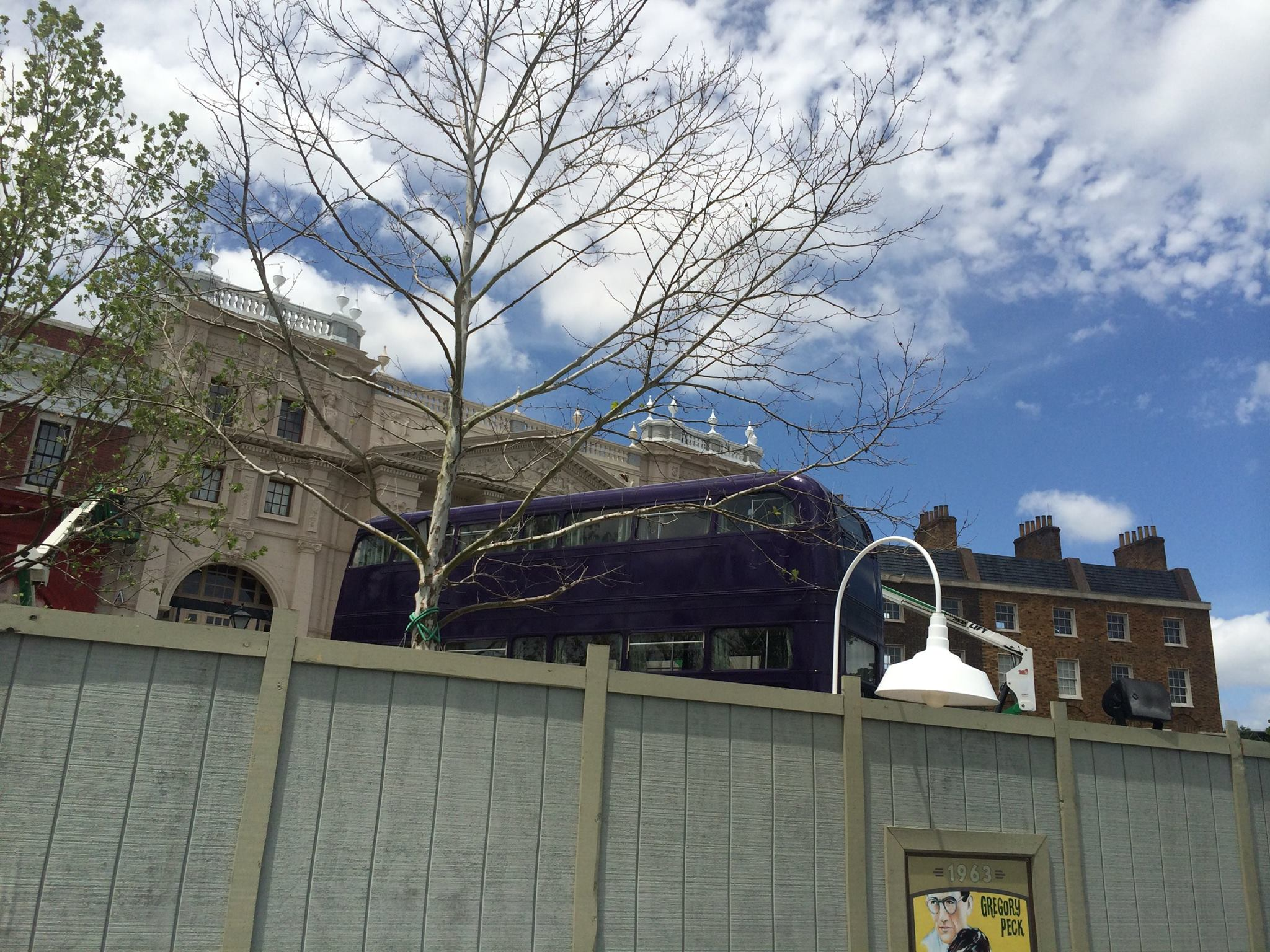 Knight Bus at Diagon Alley