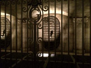 harry potter gringotts vault at wizarding world