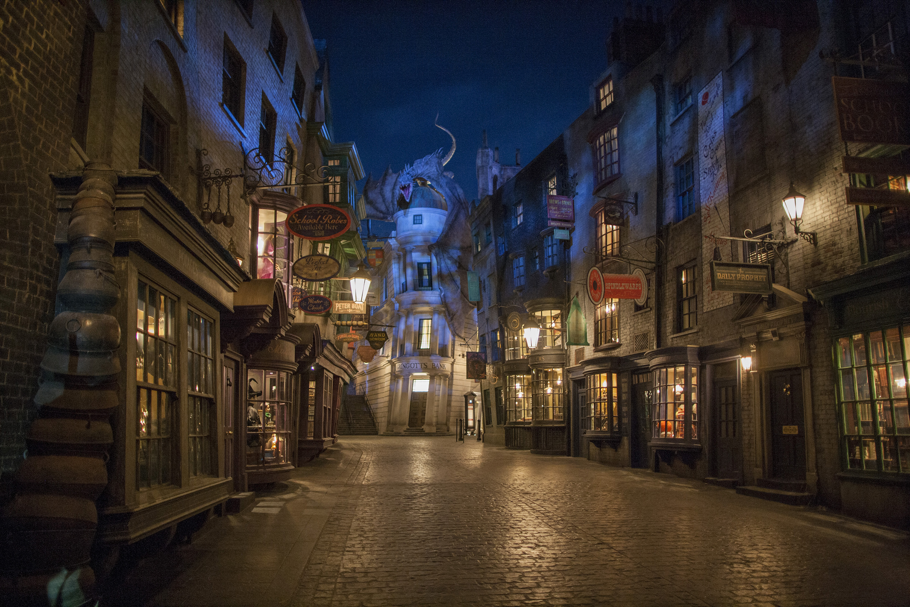 Diagon Alley at The Wizarding World of Harry Potter