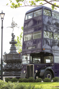 The Knight Bus at Wizarding World of Harry Potter Diagon Alley
