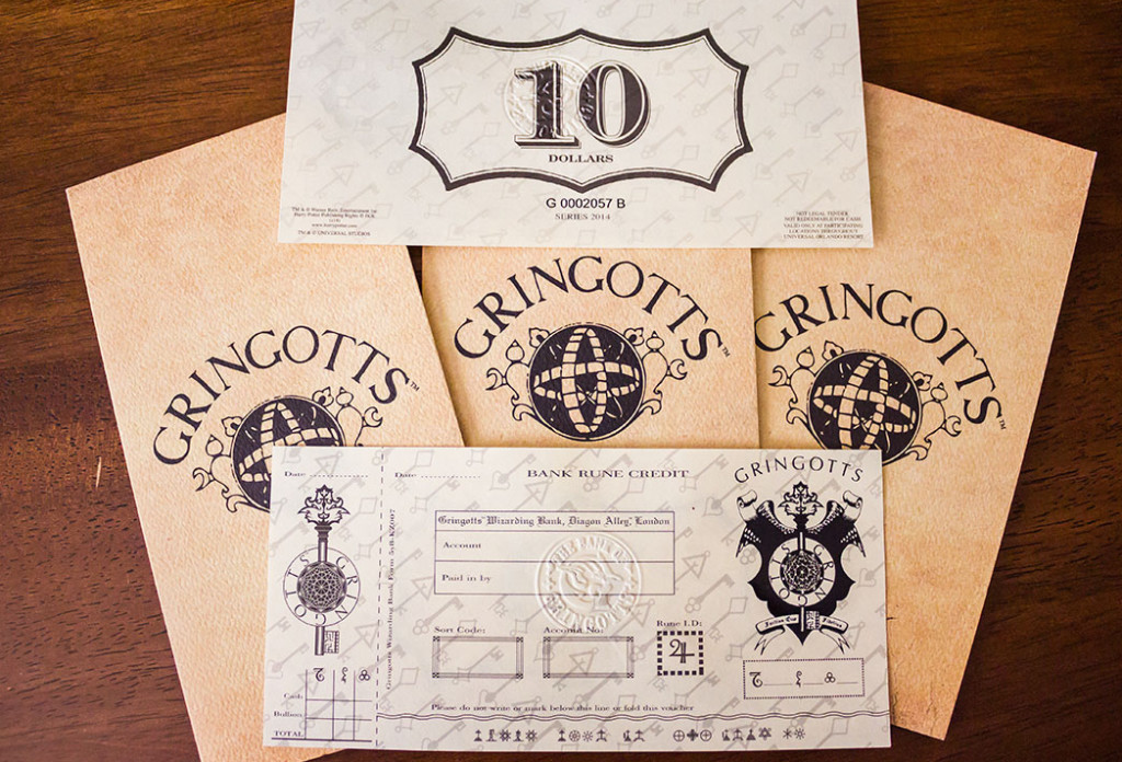 Gringotts Bank Notes