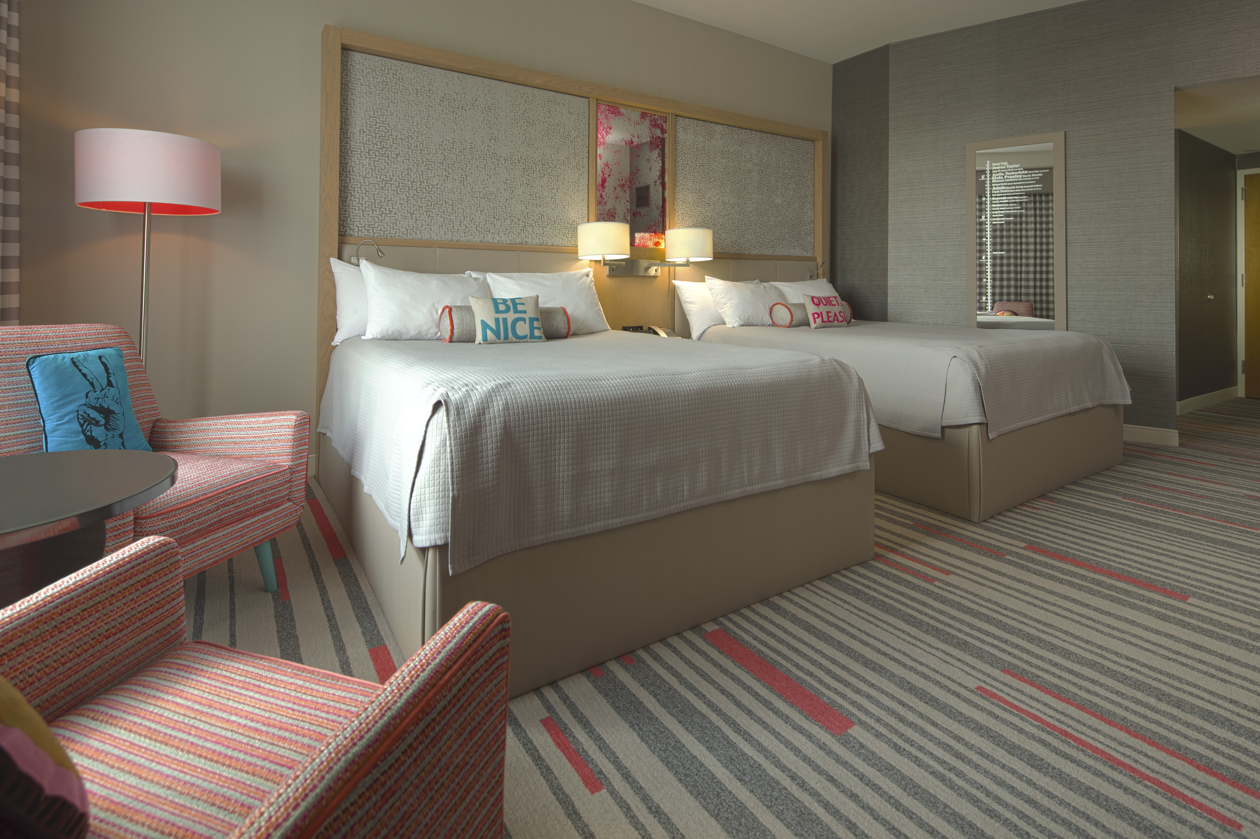 Hard Rock Hotel At Universal Orlando Debuts Stylish New Guest Rooms Inspired By The Essence Of