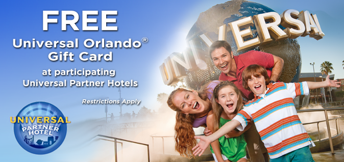 New Universal Orlando Free Gift Card Offer