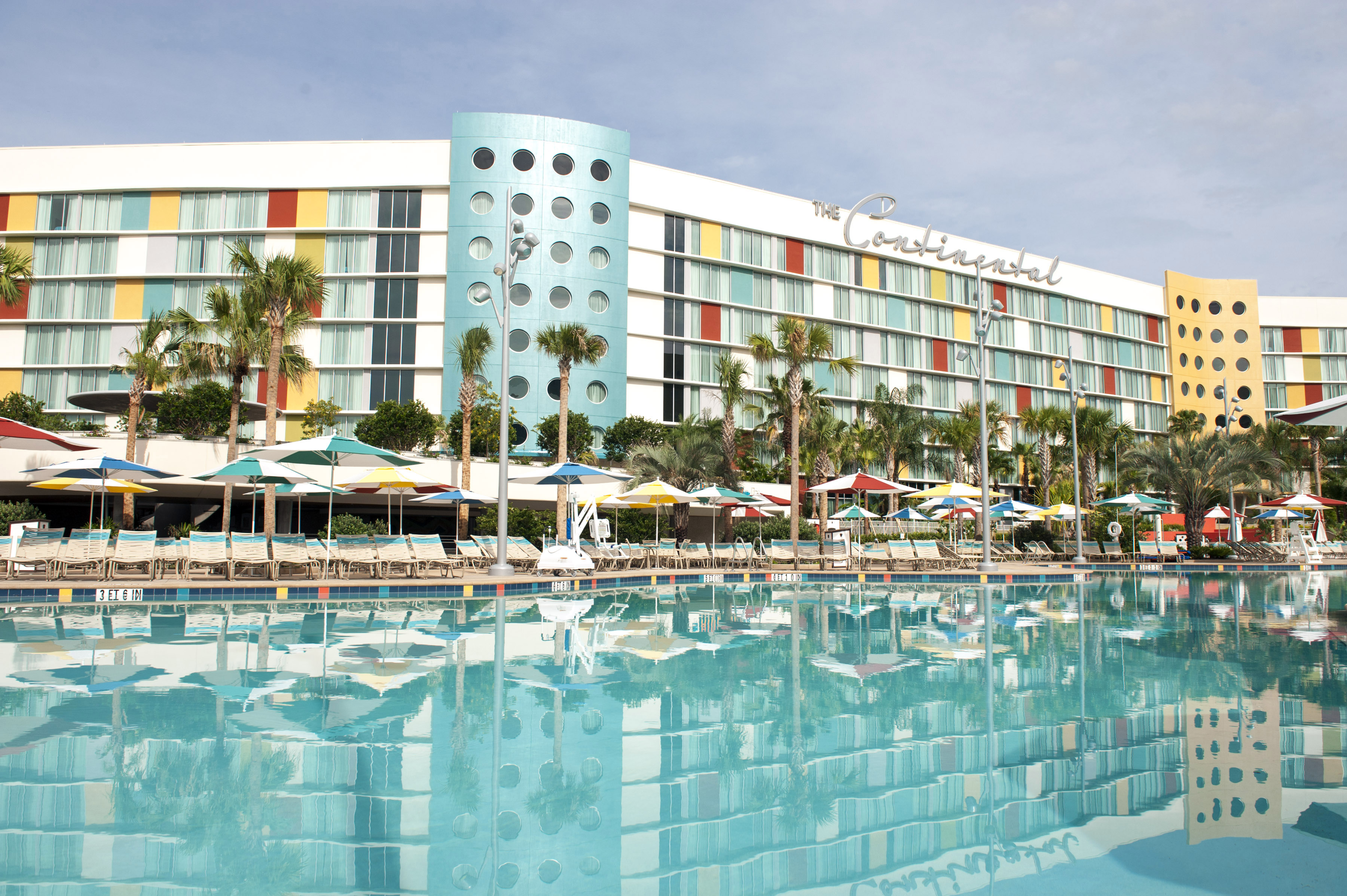 Universal Orlando S Fourth On Site Hotel Cabana Bay Beach Resort Features A