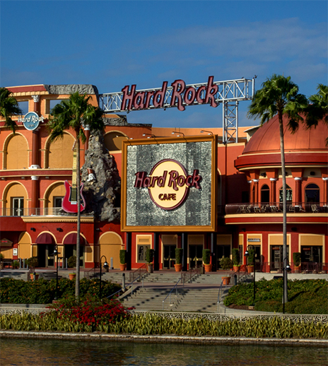 Rock out with Hard Rock Café at Universal City Walk