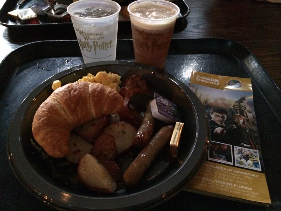Three Broomsticks Breakfast