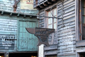 Bowman & Wright Blacksmith in Diagon Alley
