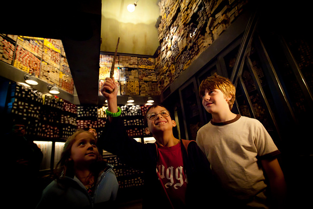 Choose a Wand at Ollivanders in the Wizarding World of Harry Potter