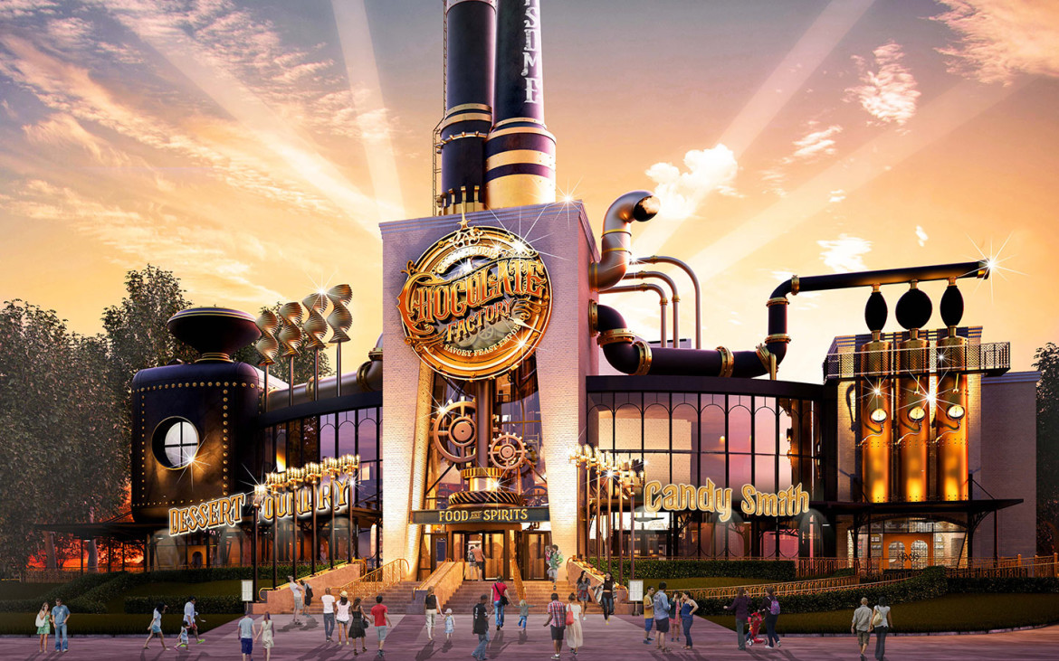 Toothsome Chocolate Factory coming to Universal Orlando City Walk