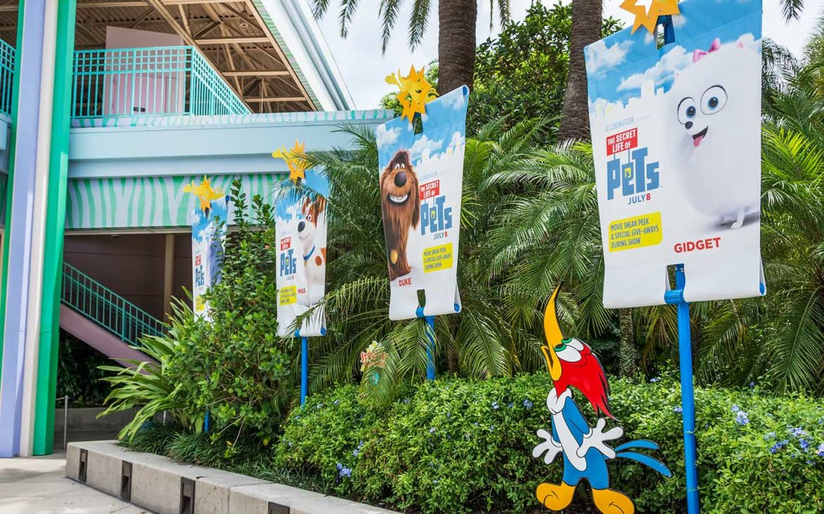 New Experiences from The Secret Life of Pets at Universal Orlando Resort