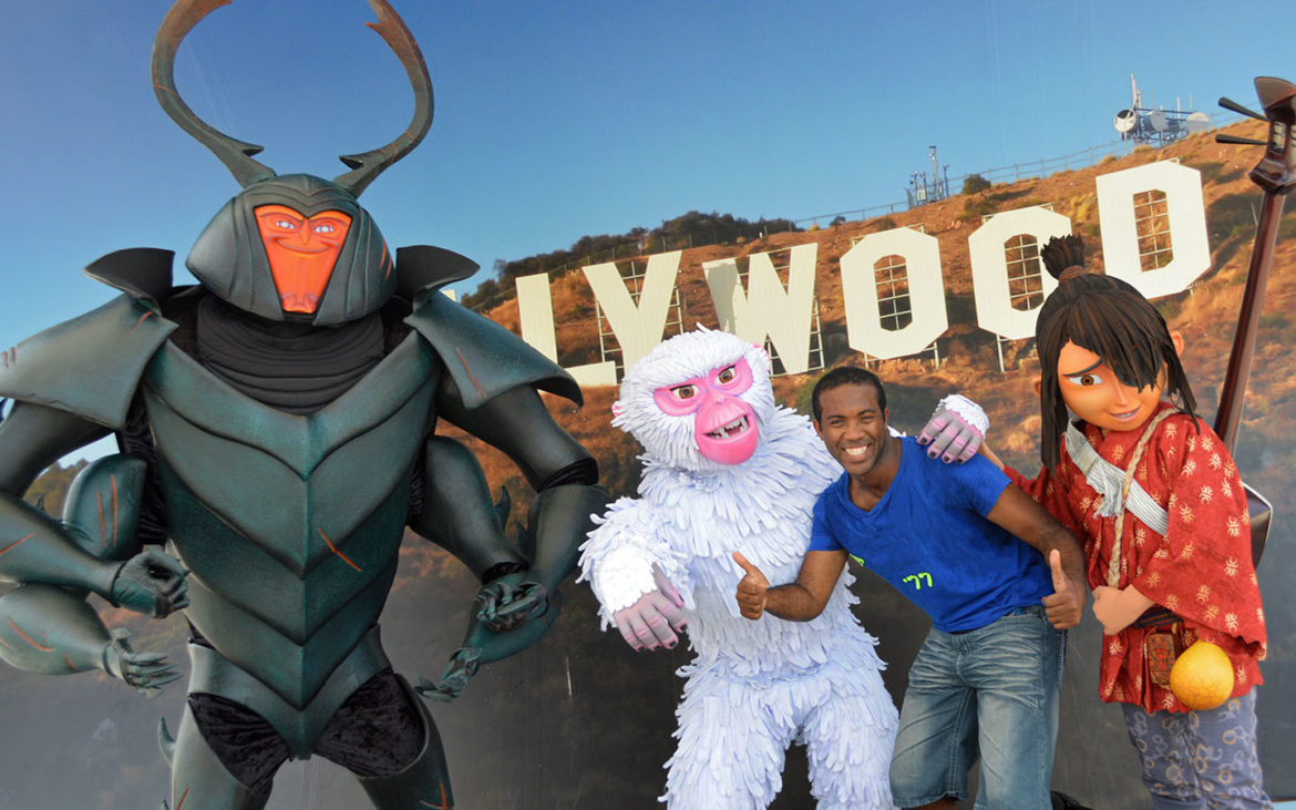 Characters from Kubo and the Two Strings Now at Universal Studios Florida