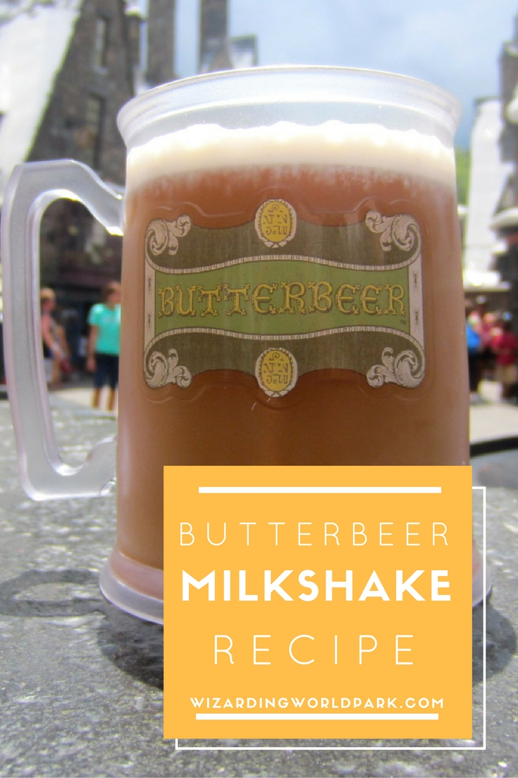 How To Make a Butterbeer Milkshake | Butterbeer Recipes
