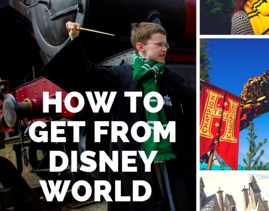 How to Visit the Wizarding World of Harry Potter from Disney World