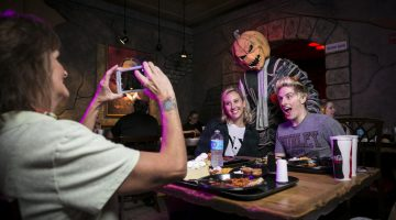Halloween Horror Nights Scareactor Dining Experience Back by Popular Demand
