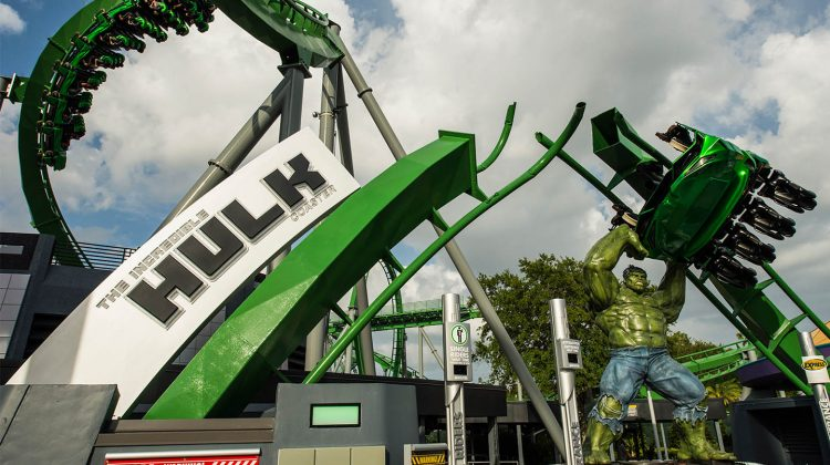 Seven Fun Facts About The New Incredible Hulk Coaster Marquee