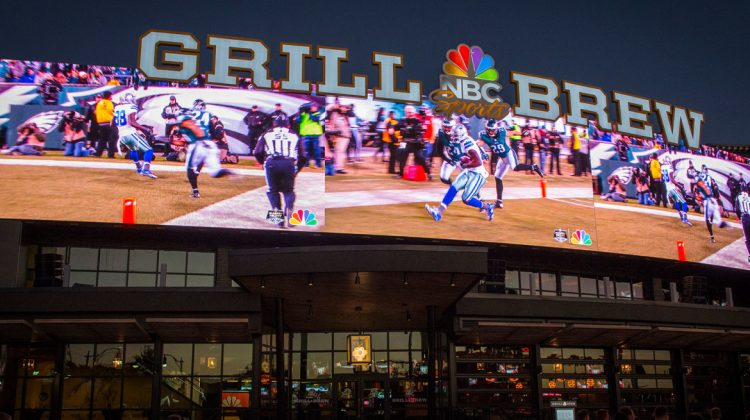 Don't Miss the Sunday Night Football Bus in Orlando at NBC Sports Grill & Brew