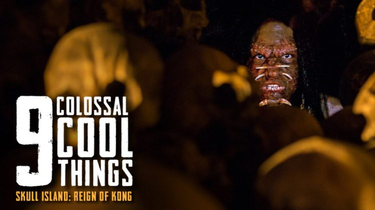 9 Colossal Cool Gif Pictures of Skull Island: Reign of Kong