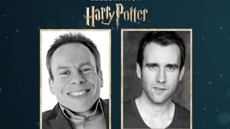 See Matthew Lewis and Warwick Davis at a Celebration of Harry Potter
