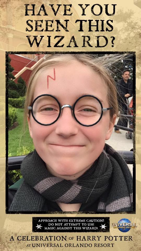 Harry Potter Celebration SnapChat Geofilter