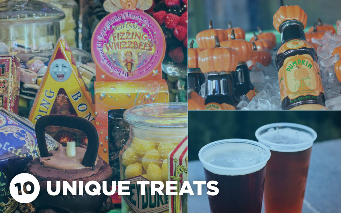 10 unique treats in Hogsmeade