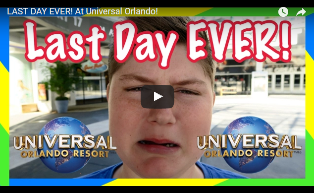 What Would You Do On Your Last Day at Universal?