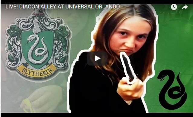 Jones Family Travels Live Broadcast From Diagon Alley