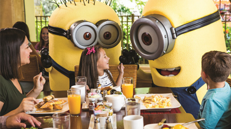 Despicable Me Character Breakfast at Universal Orlando Resort