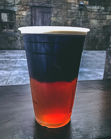 Top Secret Drinks at the Wizarding World Black Hog