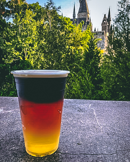 Top Secret Drinks at the Wizarding World Triple Deathly Hallows